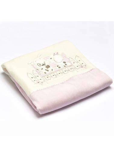 Aybibaby Boby & Bonnie_Pink Kadife Battaniye Renkli